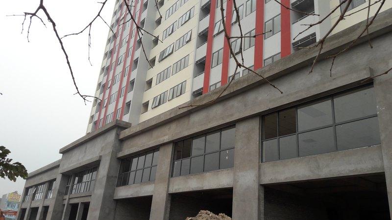 Hệ thống cửa kính tại Chung cư Hoa Long (Bắc Ninh)